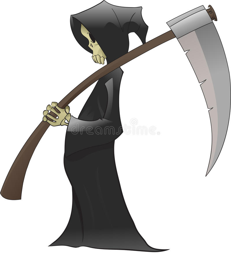 La mort illustration de vecteur