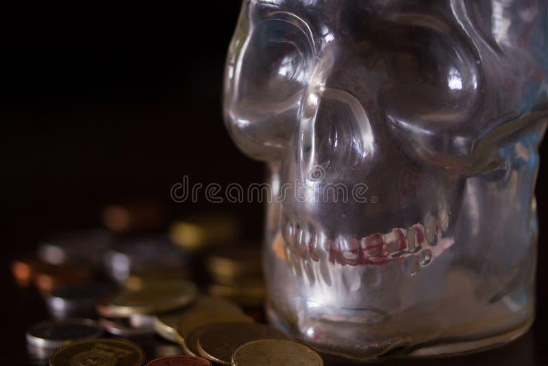 La mort et concept d'argent photos stock