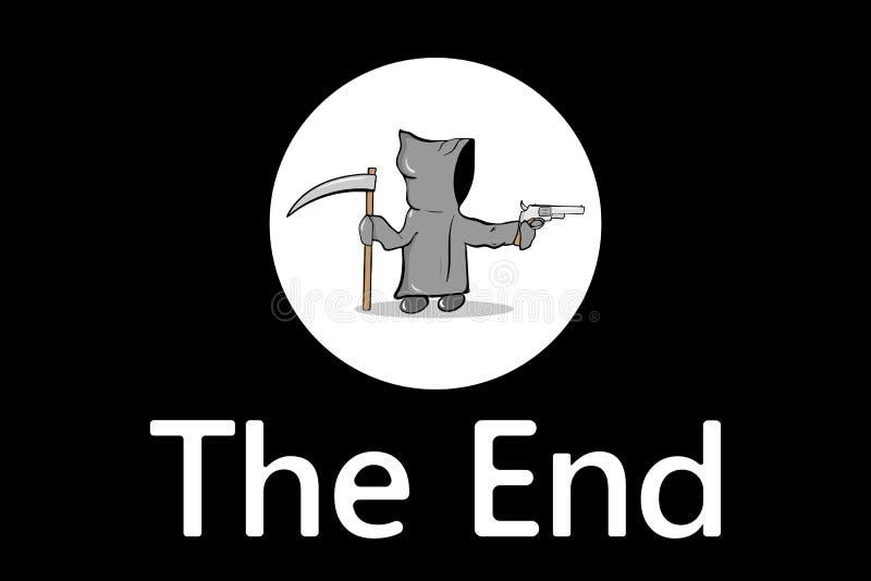 La mort l'extrémité illustration de vecteur