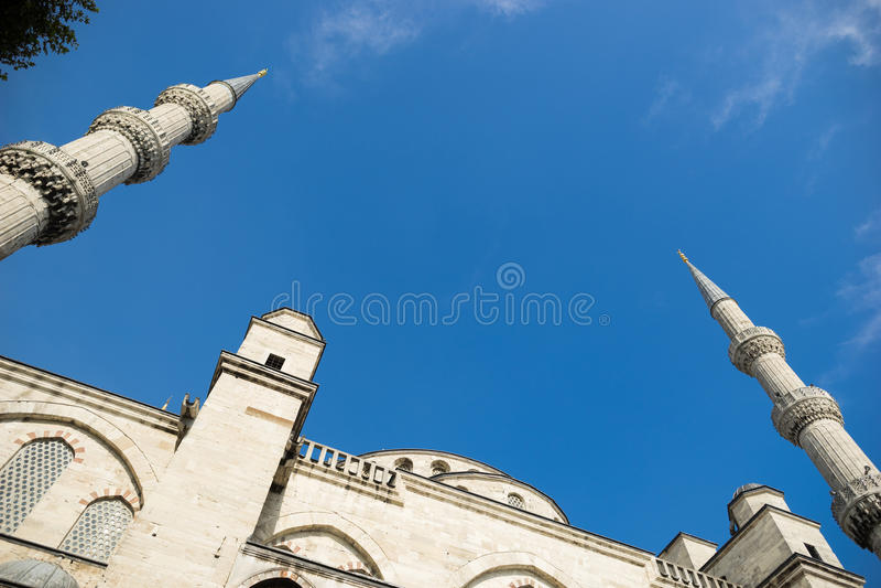 La moschea blu fotografia stock