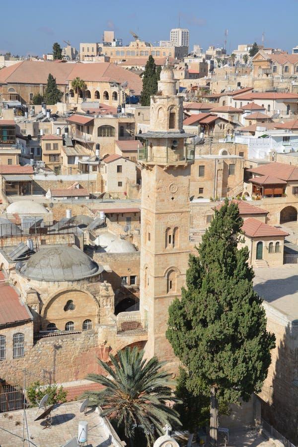 La moschea di Ayyubid di Omar fotografie stock libere da diritti