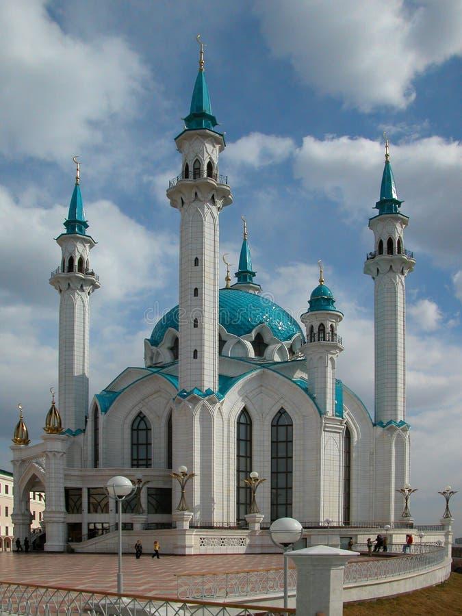 La moschea di Kul Sharif della città di Kazan in Russia pic1 fotografia stock