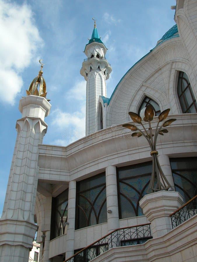 La moschea di Kul Sharif della città di Kazan in Russia pic2 immagine stock libera da diritti