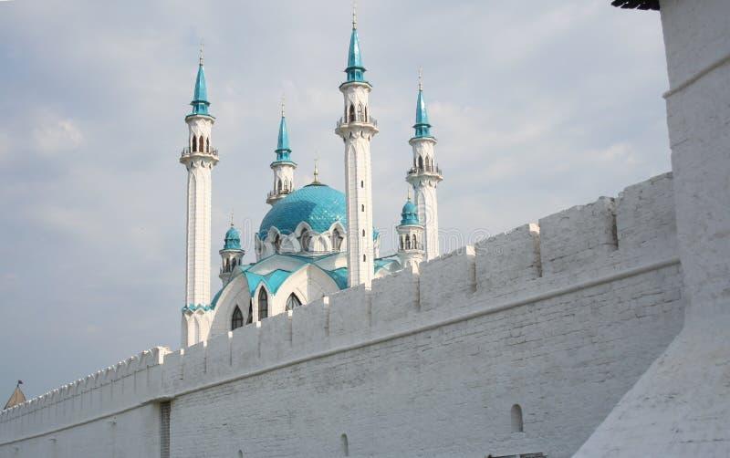 La moschea nel centro della Russia fotografie stock