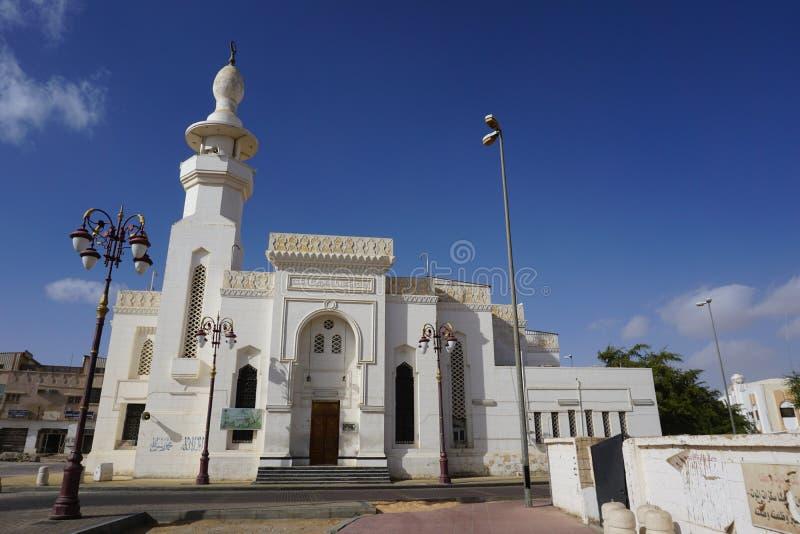La Moschea Profeta Masjid A Taubah, Tabuk City, Arabia Saudita immagini stock