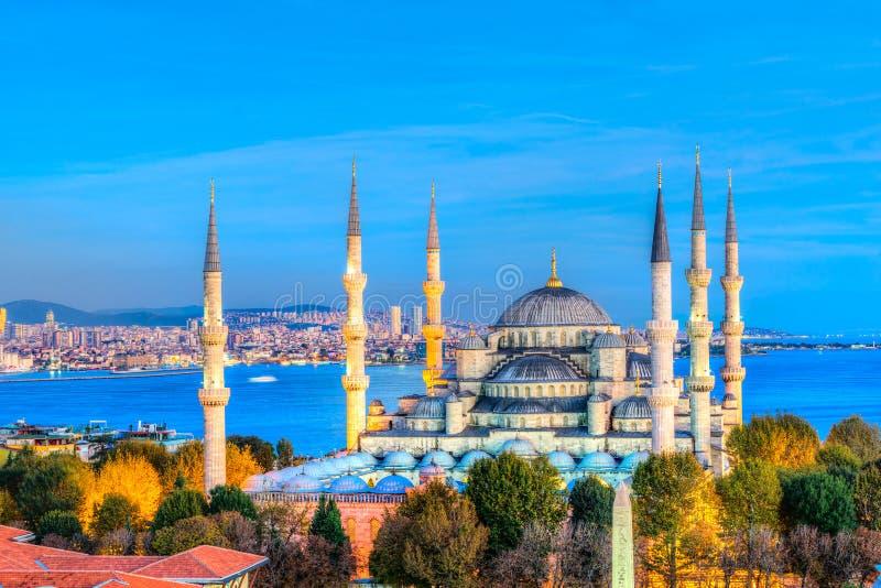 La mosquée bleue, Sultanahmet Camii, Istanbul, Turquie photos stock