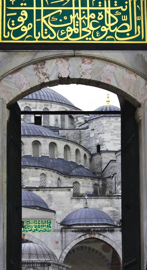 La mosquée d'Ahmed de sultan - mosquée bleue d'Istanbul images stock