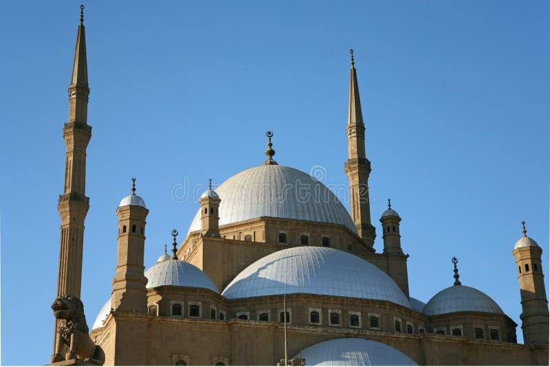 La mosquée d'albâtre image libre de droits