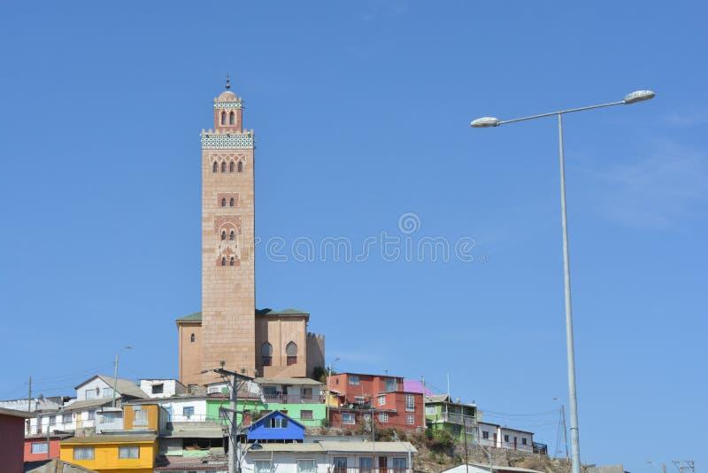La mosquée de Coquimbo, Chili image libre de droits