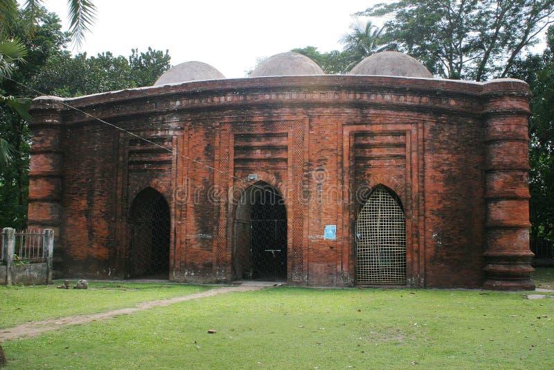 La mosquée de neuf dômes image libre de droits