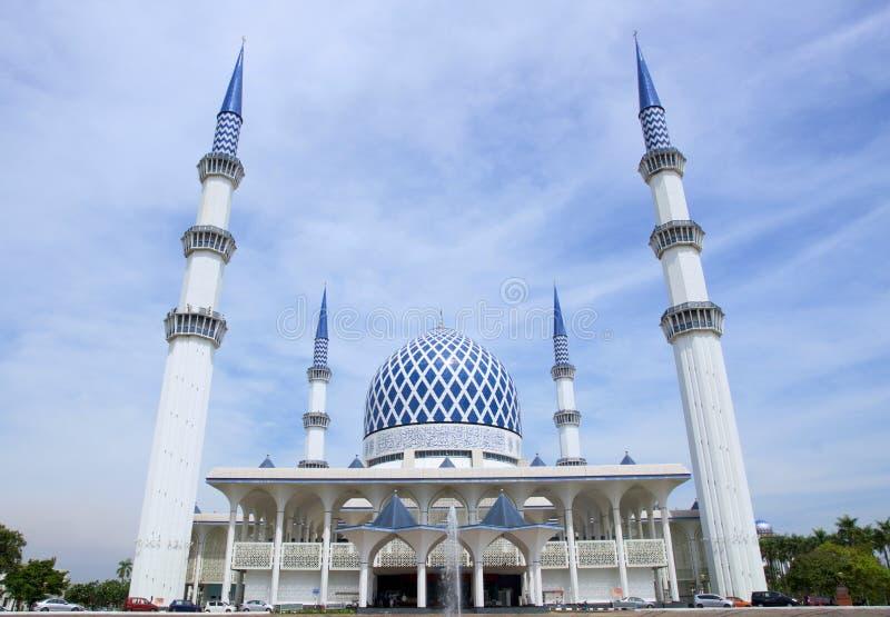 La mosquée de Salahuddin Abdul Aziz Shah de sultan photo libre de droits