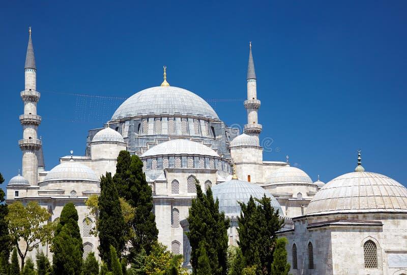 La mosquée de Suleymaniye images libres de droits