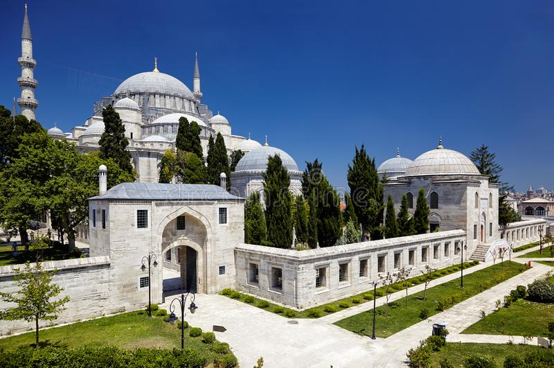 La mosquée de Suleymaniye images stock