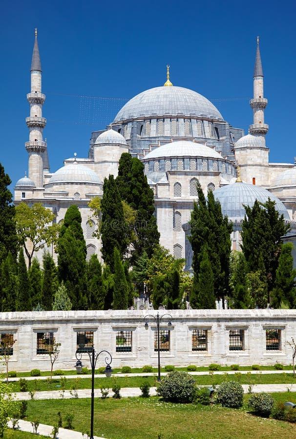 La mosquée de Suleymaniye photo libre de droits