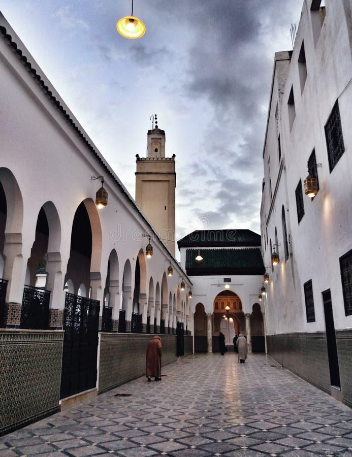 La mosquée entrent photo stock