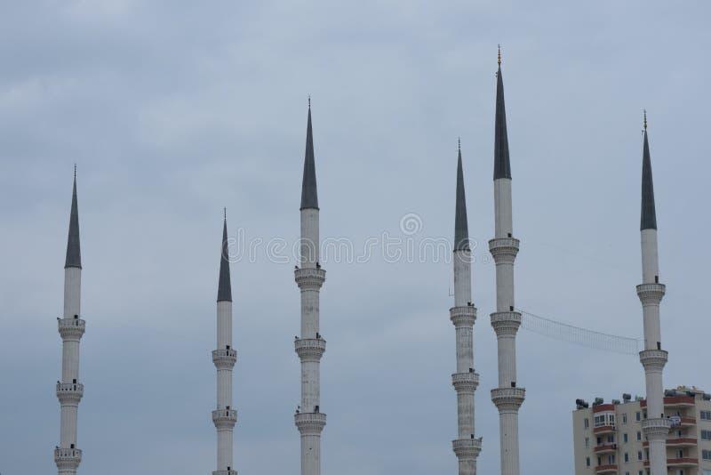 La mosquée est l'endroit du muslism images stock