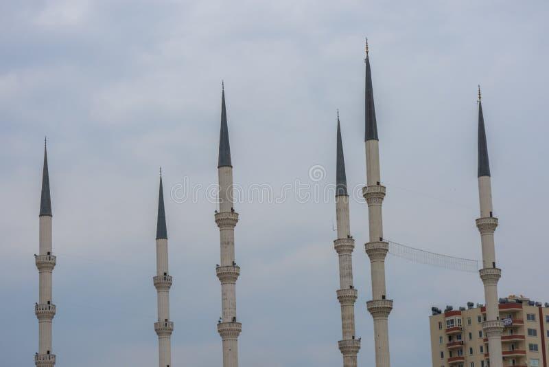 La mosquée est l'endroit du muslism image stock
