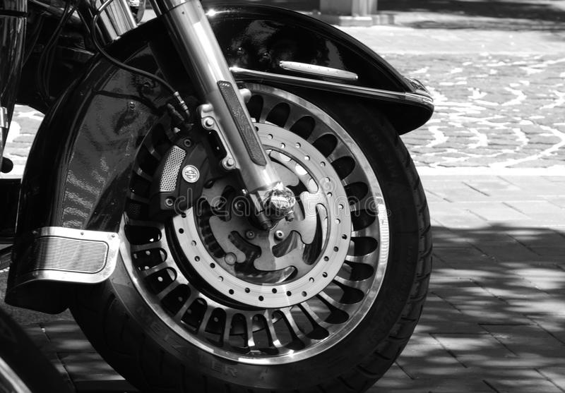 La moto automatique roule Harley photos libres de droits