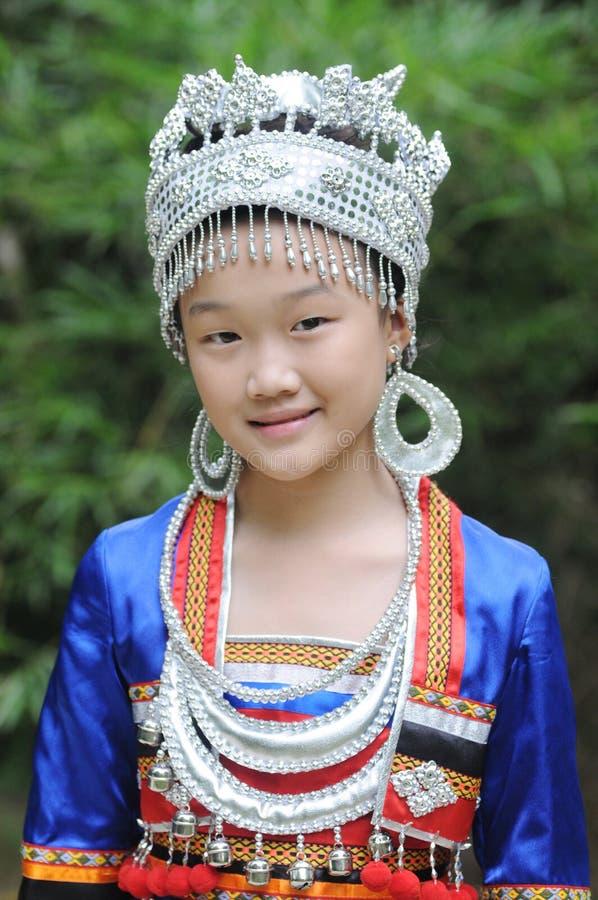 La muchacha china encantadora imágenes de archivo libres de regalías