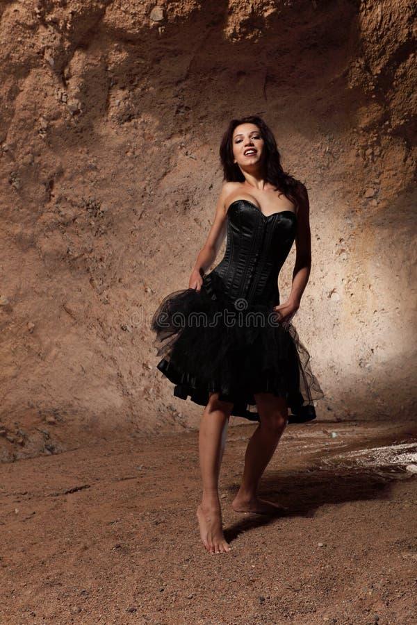 La muchacha de baile fotos de archivo
