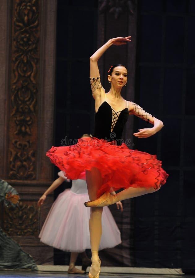 La muchacha española del estilo el segundo reino del caramelo del campo del acto segundo - el cascanueces del ballet fotografía de archivo