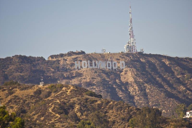 La muestra de Hollywood imágenes de archivo libres de regalías