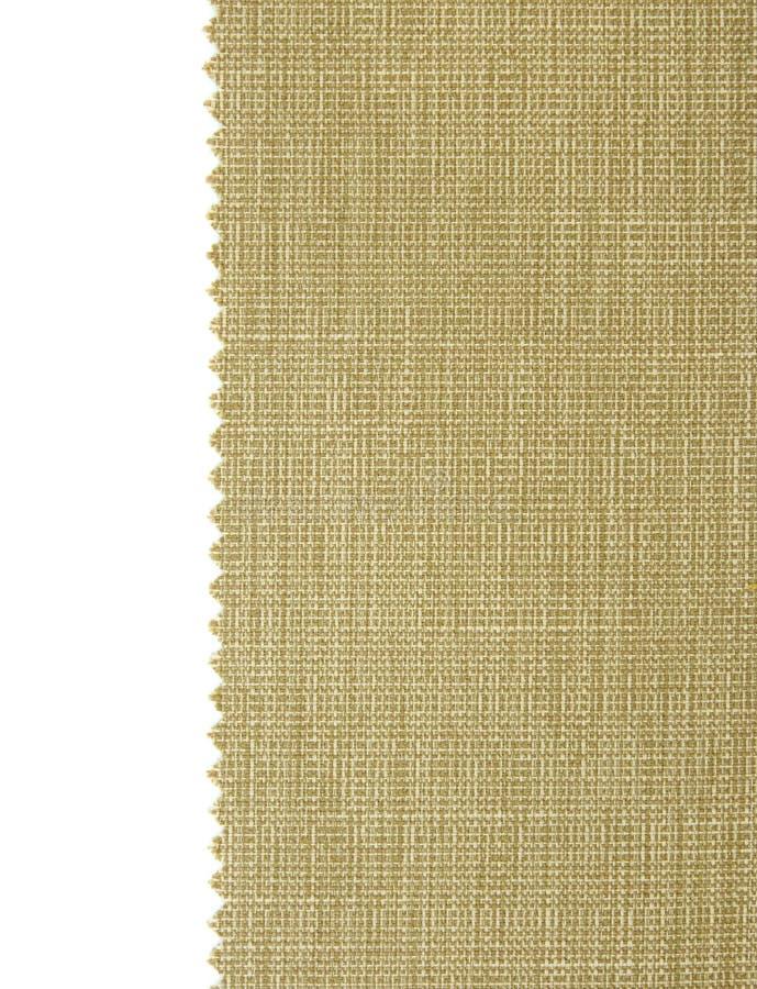 La muestra verde de la tela muestrea textura fotos de archivo libres de regalías