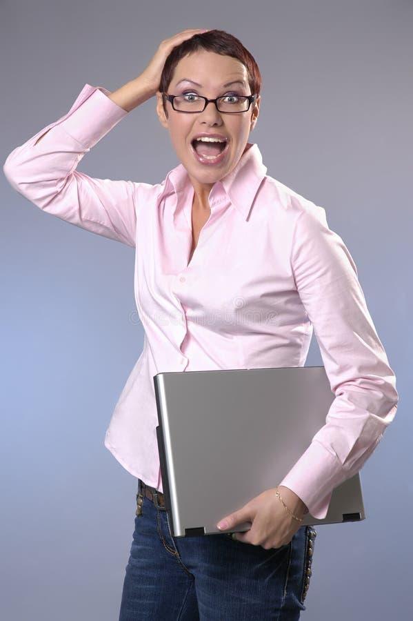 La mujer de negocios imagen de archivo libre de regalías