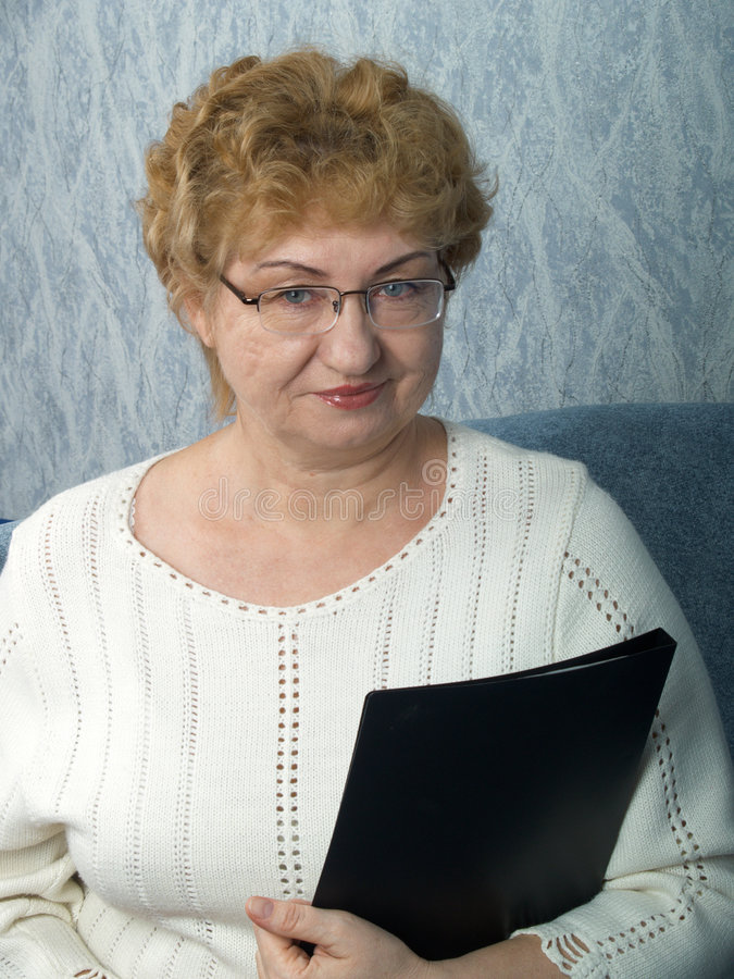 La mujer de negocios fotografía de archivo libre de regalías