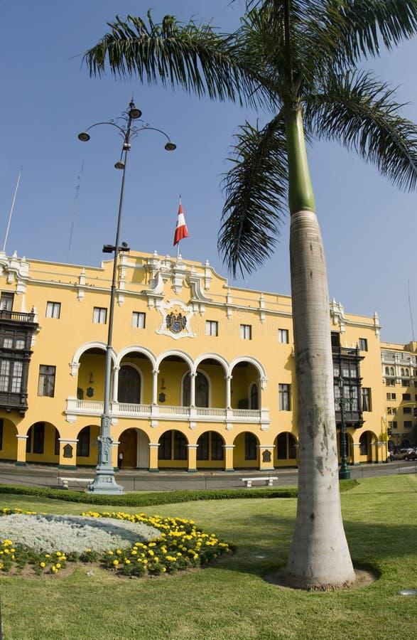 La municipalidad De Lima stockfotos