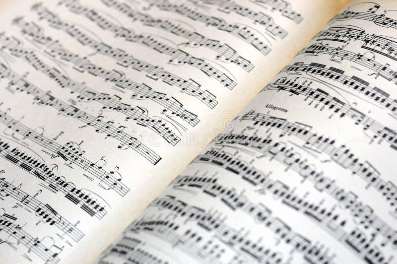 La musique note le fond photo libre de droits