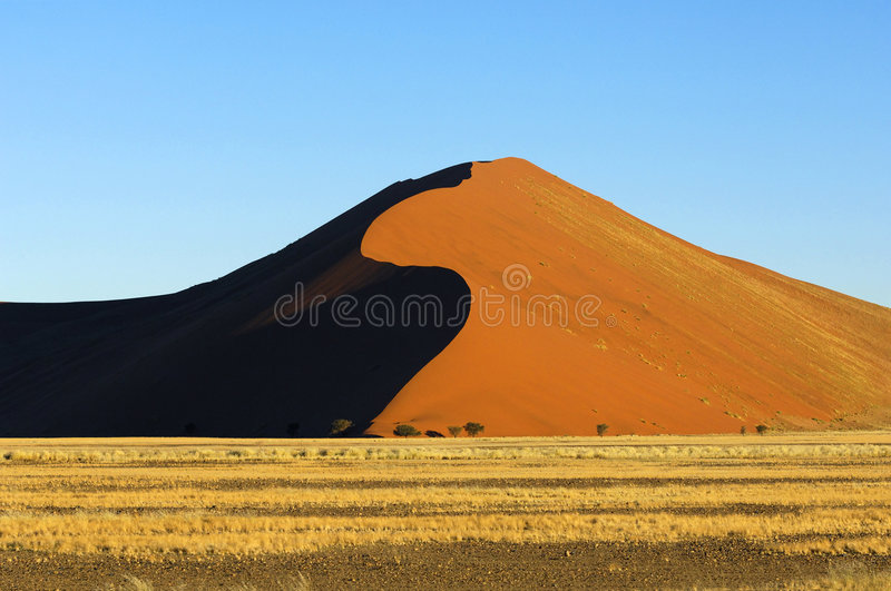 La Namibie photographie stock