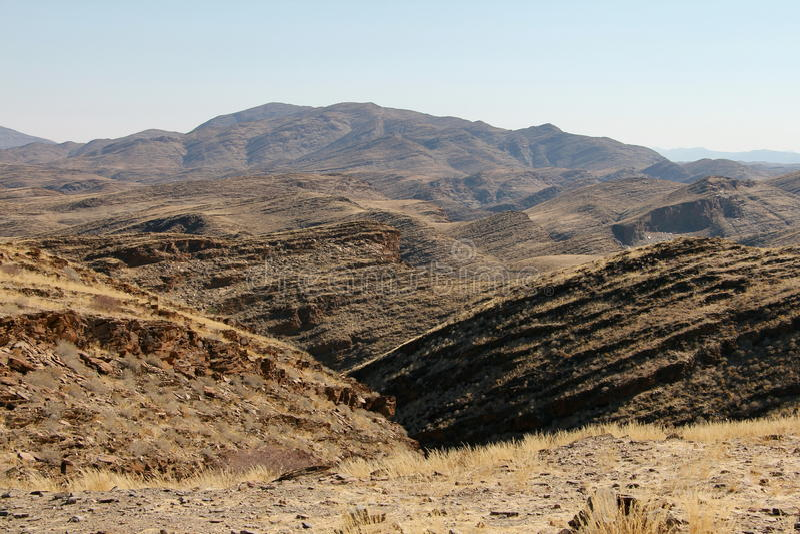 La Namibie Naukluft image stock