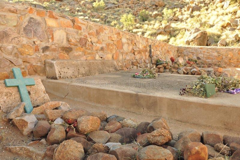 La Namibie : Sam Khubis Memorial, où les Baster-personnes ont combattu les Allemands photo libre de droits