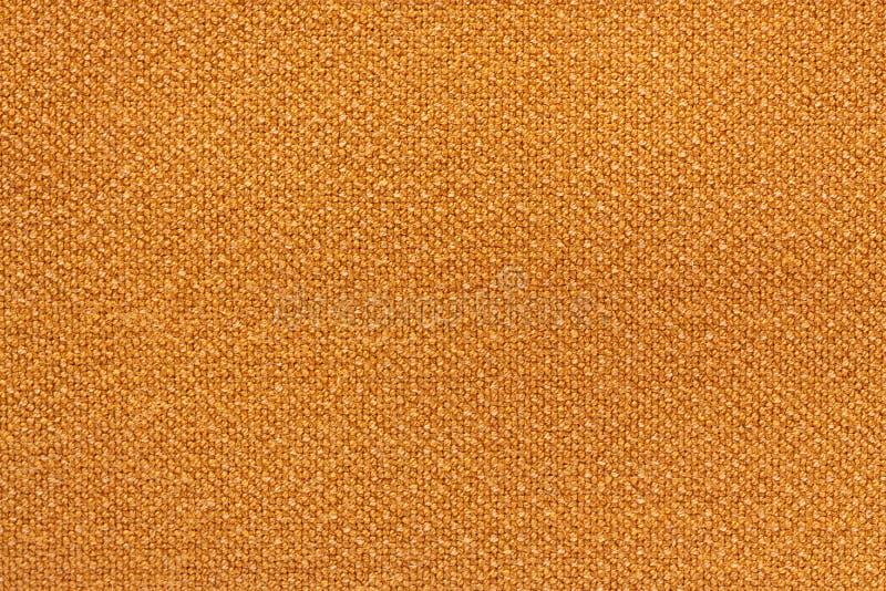 La naranja lavó la textura de la alfombra, fondo blanco de la textura de la lona de lino fotos de archivo libres de regalías