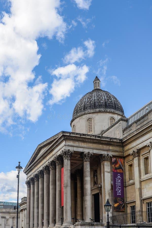La National Gallery London fotografie stock