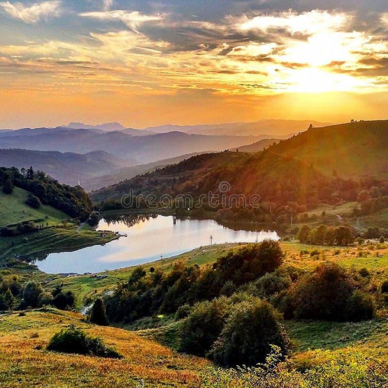 La natura è l'arte del dio La Transilvania! immagini stock libere da diritti