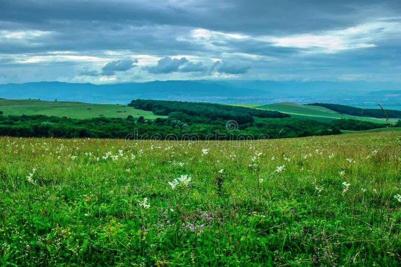 La natura è l'arte del dio La Transilvania! fotografie stock libere da diritti