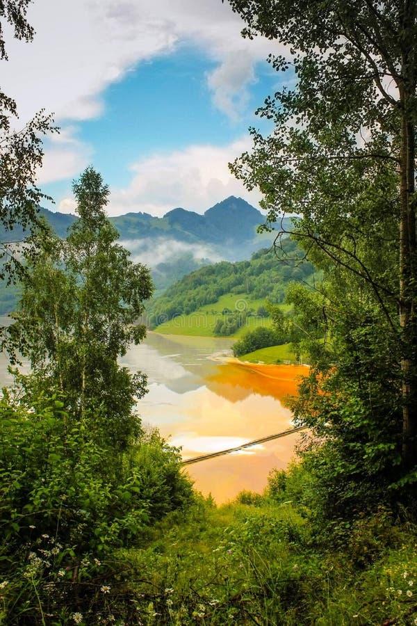La natura è l'arte del dio La Transilvania! immagine stock