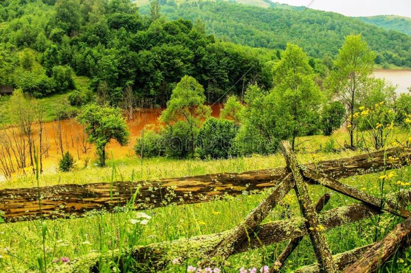 La natura è l'arte del dio La Transilvania! fotografie stock