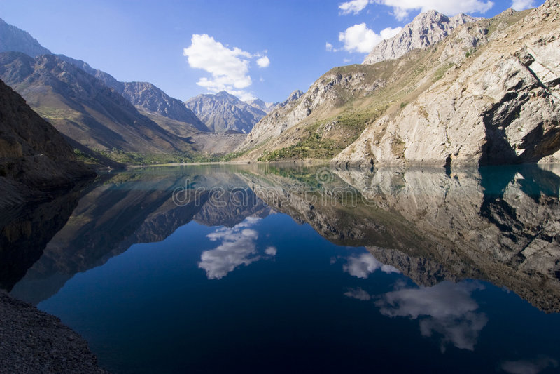 La naturaleza de Tajikistan. fotografía de archivo libre de regalías