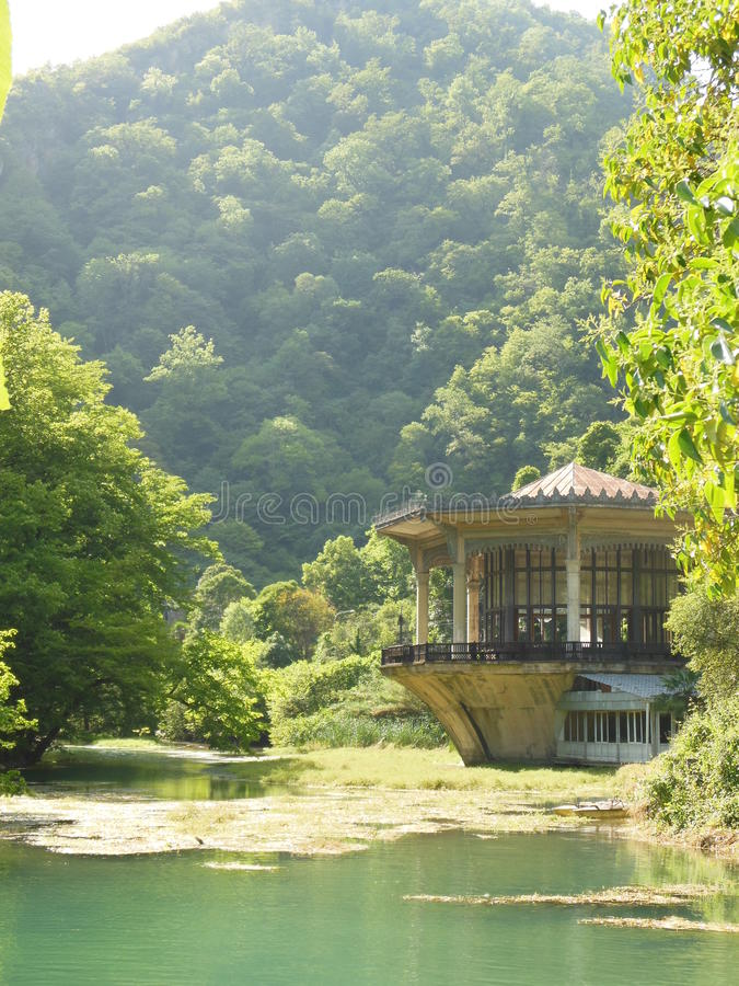 La nature d'Abhazia photo libre de droits