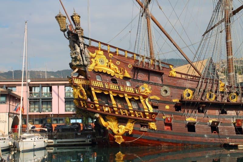 La nave di pirata fotografia stock libera da diritti