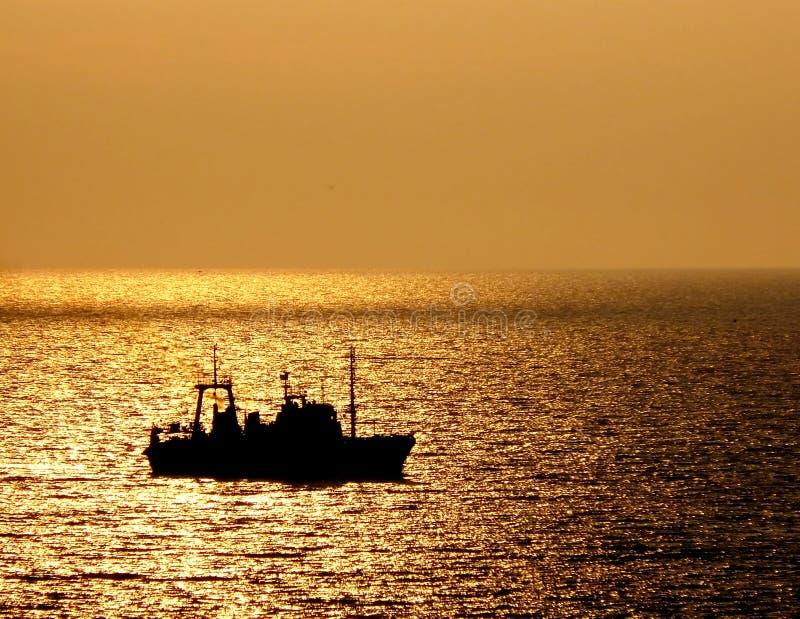 La nave va a casa fotografia stock libera da diritti