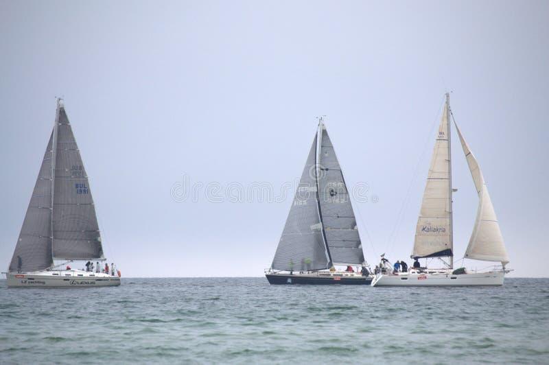 La navegación navega regata foto de archivo