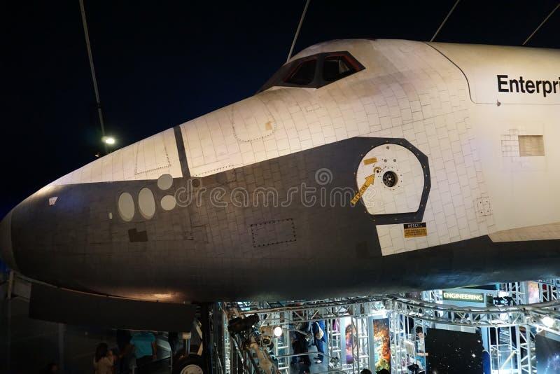 La navetta spaziale Pavillion 63 fotografia stock libera da diritti