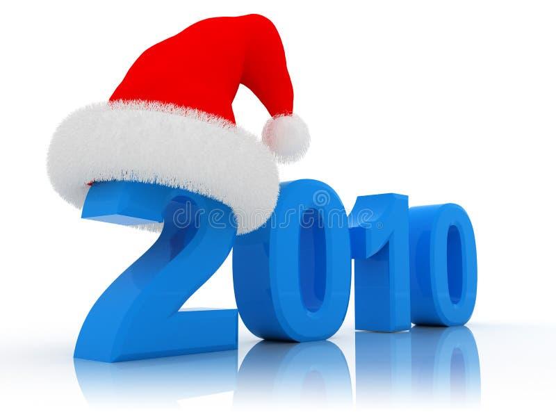 La Navidad 2010 stock de ilustración