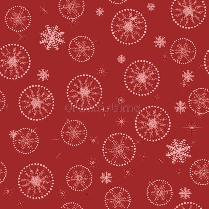 La Navidad Abstracta Inconsútil Imagen de archivo