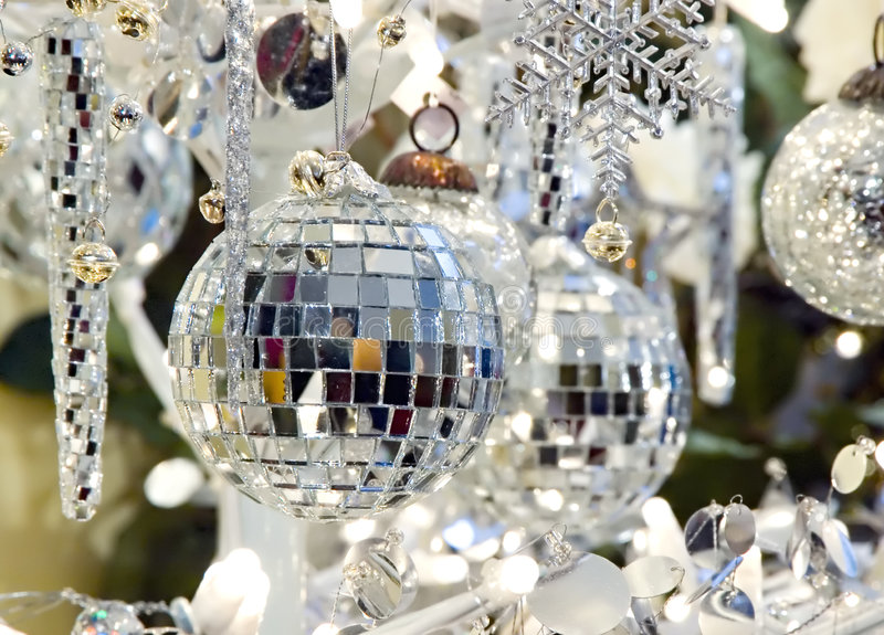 La Navidad adorna la decoración del día de fiesta foto de archivo