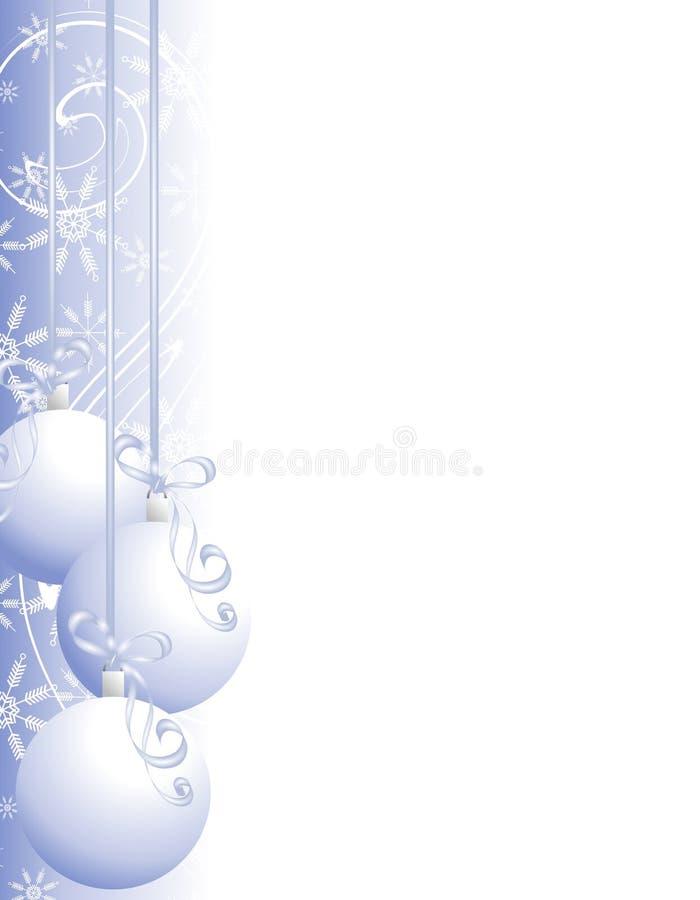 La Navidad adorna la frontera 2 ilustración del vector